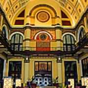 Union Station Lobby Large Size Art Print