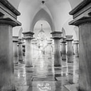 United States Capitol Crypt Art Print
