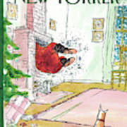 New Yorker December 13th, 2010 Art Print