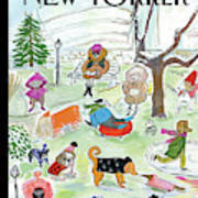 New Yorker March 18th, 2013 Art Print