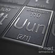 Ununnilium Chemical Element Art Print