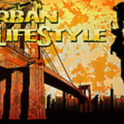 Urban Lifestyle Art Print