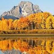 Usa, Grand Teton National Park Wyoming Art Print