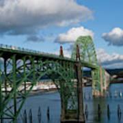 Usa, Oregon, Newport, Us 101 Bridge Art Print