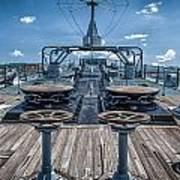 Uss Missouri Anchor Chain Art Print