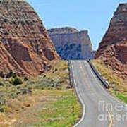 Utah Highway Art Print