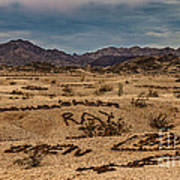 Valley Of The Names Art Print by Robert Bales
