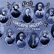Vancouver Amazons Women's Hockey Team 1921 Art Print