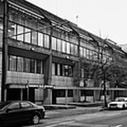 Vancouver Police Department Station 236 Cordova Street Bc Canada Print by Joe Fox