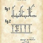 Velcro Patent 1952 - Vintage Art Print