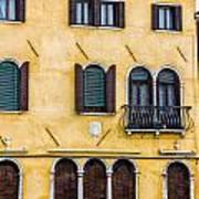 Venetian Building Art Print
