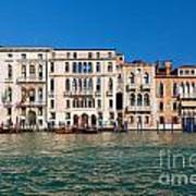 Venice Grand Canal View Italy Art Print