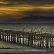 Ventura Pier Art Print