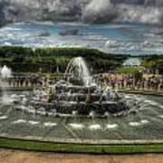Versailles Fountain Art Print
