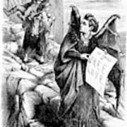 Victoria Claflin Woodhull (1838-1927) Art Print