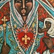 Vierge Noire De Paris Art Print