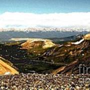 View From The Top Art Print by Claudette Bujold-Poirier