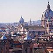 View Of Rome 2013 Art Print