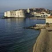 Views Of Dubrovnik Old Town Croatia Art Print