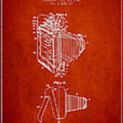 Vintage Film Camera Patent From 1948 Art Print by Aged Pixel