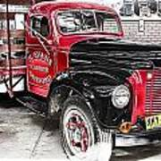 Vintage International Truck Art Print by Douglas Barnard