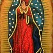Virgen De Guadalupe - Guadalupe Virgin - Lady Of Guadalupe Art Print