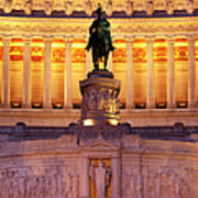Vittorio Emanuele - Rome Art Print