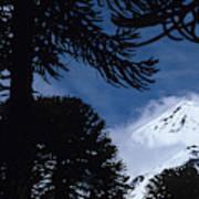 Volcano In Patagonia, Argentina Art Print