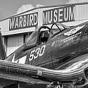 Warbird Museum Art Print
