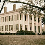 Warren Stone House In Alabama Art Print