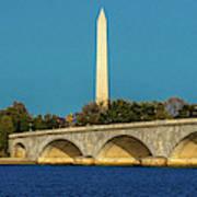 Washington D.c. - Memorial Bridge Spans Art Print