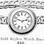 Watch Bracelet, 1891 Art Print