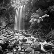 Waterfall 09 Art Print by Colin and Linda McKie