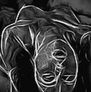 We Fade To Grey Art Print