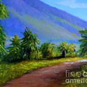 West Maui Mountains Art Print