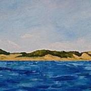 West Michigan Dunes Art Print