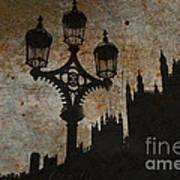 Westminster Silhouette Art Print