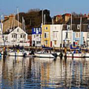 Weymouth In The Water Art Print