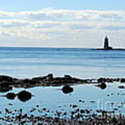 Whaleback Lighthouse Art Print