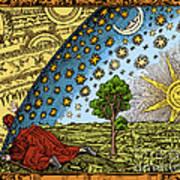 Where Heaven And Earth Meet 1888 Art Print