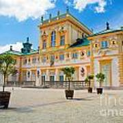Wilanow Palace In Warsaw Poland Art Print