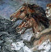 Wild Hunt Art Print