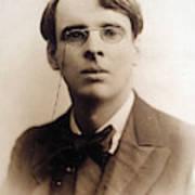 William Butler Yeats (1865-1939) Art Print