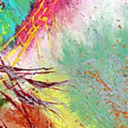 Modern Abstract Diptych Part 2 Art Print