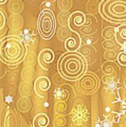 Winter Dress Detail Art Print
