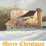 Winter Hush Holiday Card1 Art Print