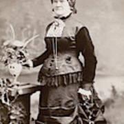 Women's Fashion, 1880s Art Print
