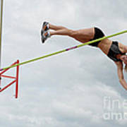 Womens Pole Vault 3 Art Print