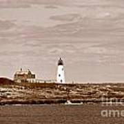Wood Island Lighthouse Art Print