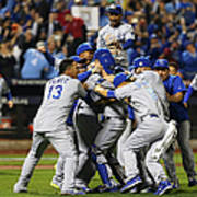 World Series - Kansas City Royals V New Art Print